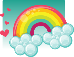 Rainbow icon by ciara-cable