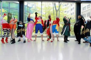 ONE PIECE looking down pose XD by Tamama0917