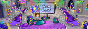 F2U Fantage Prom 2015 Castle Room Background by Fario-P