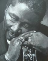 BB King by footinadream