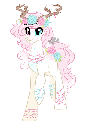 Comission: blooming pandorea by SapphireScarletta