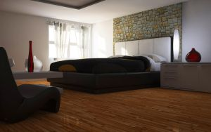 3D Bedroom scence by double-graphic