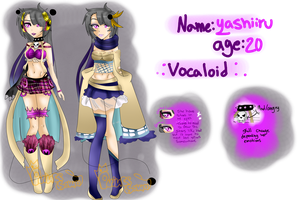Yushiiro Vocaloid RPC -Reference- by XxAsmodeoSama