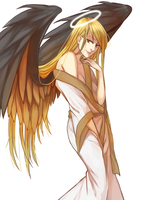 [OC] Angel by Sachrawrrr