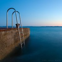 Ladders to the sea by ivancoric