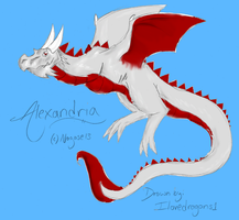 Art Trade with Nagase13 by Ilovedragons1