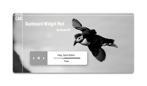 Dashboard Widget Mod by Gerard19