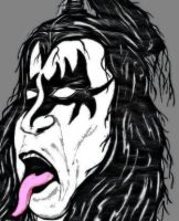 GENE SIMMONS by hotsnowman