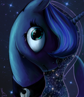 Princess Luna by denshi-lie