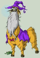 Wizard Llama by Cannibal-Cartoonist