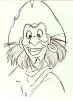Clopin Sketch by SuperRamen