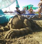 Untitled sand sculpture by visionality