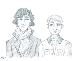sherlock sketches 001 by RedDestiny