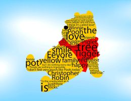 Winnie the Pooh Typography by Wannapiece25