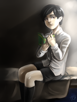 Young Tom Riddle by abna125