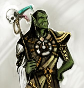 Orc Shaman SP by ra1ncloud