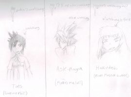 21 watchers~ (not including my own accounts....) by Horripilation-Fork