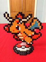 Pokemon: Dragonite- Hama Design by Dogtorwho
