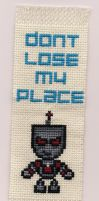 Evil Gir Bookmark X-Stitch by Shellfx