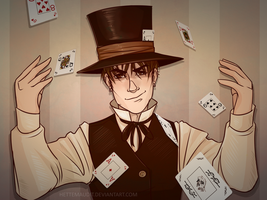 Dimitri, The Magician by HetteMaudit