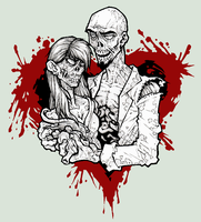 Zombie love by NoahW