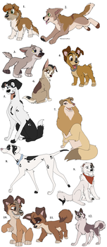 Dogs For Adoption (GONE) by Claire-Cooper