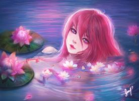 Dream of Floral Pond by Xhilia7