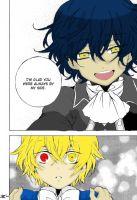 Pandora hearts Colored Page by DaveXStrider