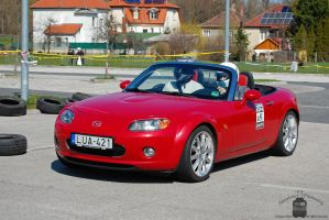 Mazda MX5 - Campus Cup in Gyor, 2013 by morpheus880223