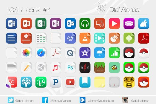 ios 7 icons #7 by dtafalonso