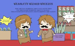 Weasley's Wizard Wheezes by peach-pulp