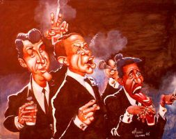 The Rat Pack. by michaelvernon