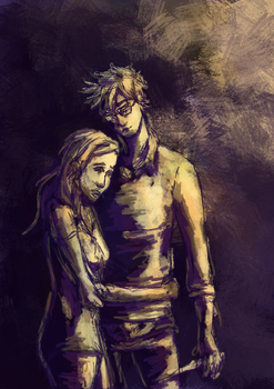 Worry - Lily and James by Aviika-Lia
