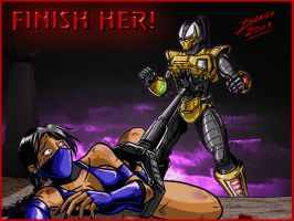 Cyrax Finish - Request Part 1 by TheInsaneDarkOne