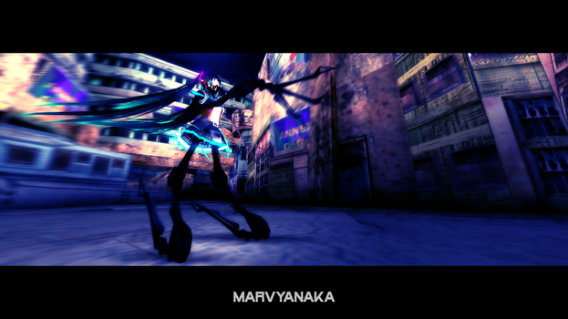MMD meet the mechanical beauty by marvyanaka