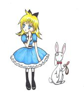 Alice in Wonderland II. by Seleko