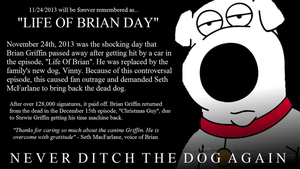 11.24.2013 - Life Of Brian Day by TheWolfBunny