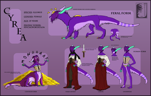 Reference sheet: Cyrea by Virensere