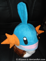 Mudkip Hat by Allyson-x