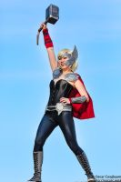Lady Thor: God of Thunder by ocwajbaum