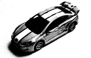 Peugeot 407 Sketch by Kustomizer