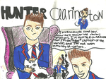 I'm Hunter Clarington. by Sugerpie56