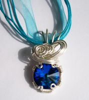 """Watery"" pendant by DownToTheWire"