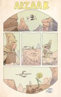 Survey of Seqa Ode to Moebius project by JakeSmithArt