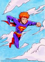 Ichigo's Superman by Grace-Allergies