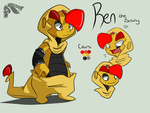 Ren Reference Sheet by Wimawile