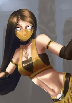 Araceli - iScorpion-Ermac-Girl Color [Request] by Zeke-Yggrassil