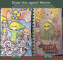 Draw this again Meme - Wind Waker by shmad380