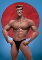 Mr. Muscular by DavidAdhinaryaLojaya