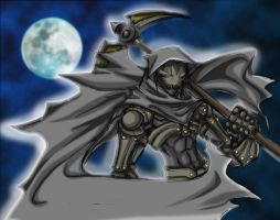 Dark Elf: Grim Reaper by Tyshea